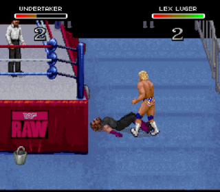 Screenshot Thumbnail / Media File 1 for WWF Raw (Europe)