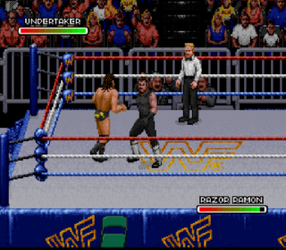 Screenshot Thumbnail / Media File 1 for WWF Royal Rumble (Europe)