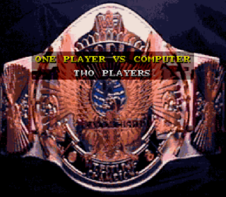 Screenshot Thumbnail / Media File 1 for WWF Super WrestleMania (Japan)