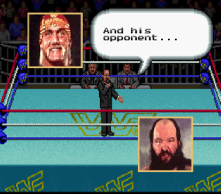 Screenshot Thumbnail / Media File 1 for WWF Super WrestleMania (USA)