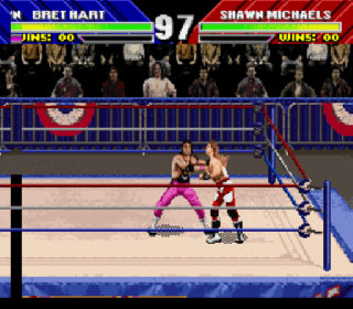 Screenshot Thumbnail / Media File 1 for WWF WrestleMania (Europe)