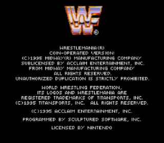 Screenshot Thumbnail / Media File 1 for WWF WrestleMania (USA)