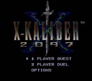 Screenshot Thumbnail / Media File 1 for X-Kaliber 2097 (USA) (Beta)