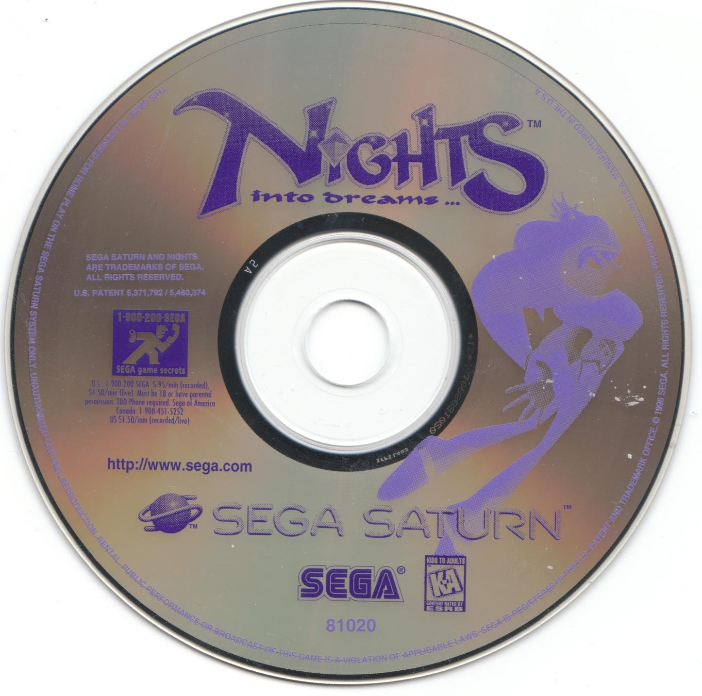 nights into dreams ps2 rom