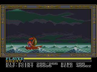 Screenshot Thumbnail / Media File 1 for Ys III - Wanderers from Ys (USA)