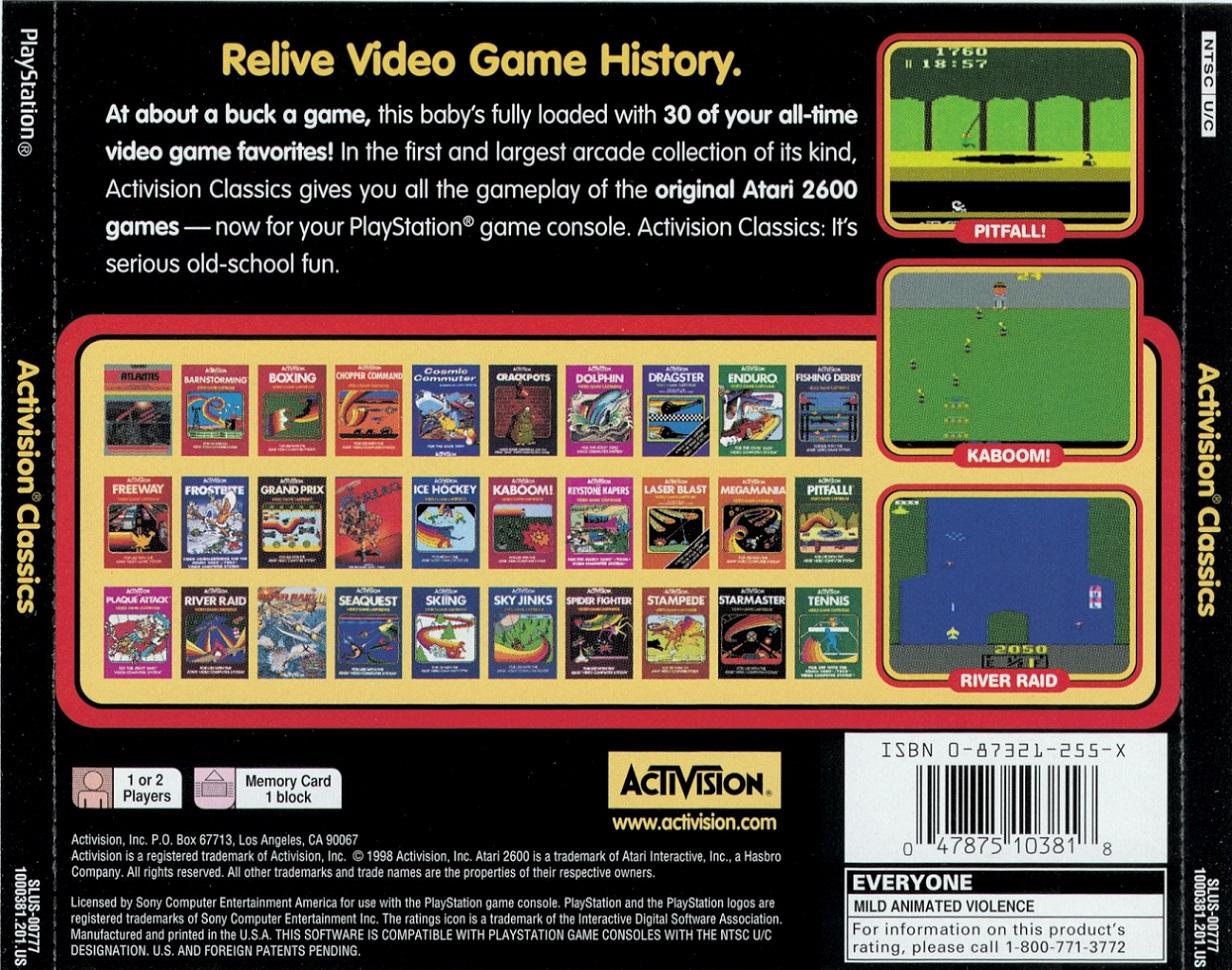 Activision Classics [U] ISO