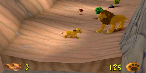 Kuvahaun tulos haulle Lion King - Simba's Mighty Adventure PS1