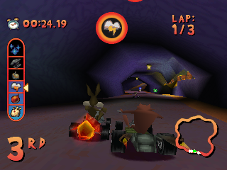 Screenshot Thumbnail / Media File 1 for Looney Toons Racing (bin)