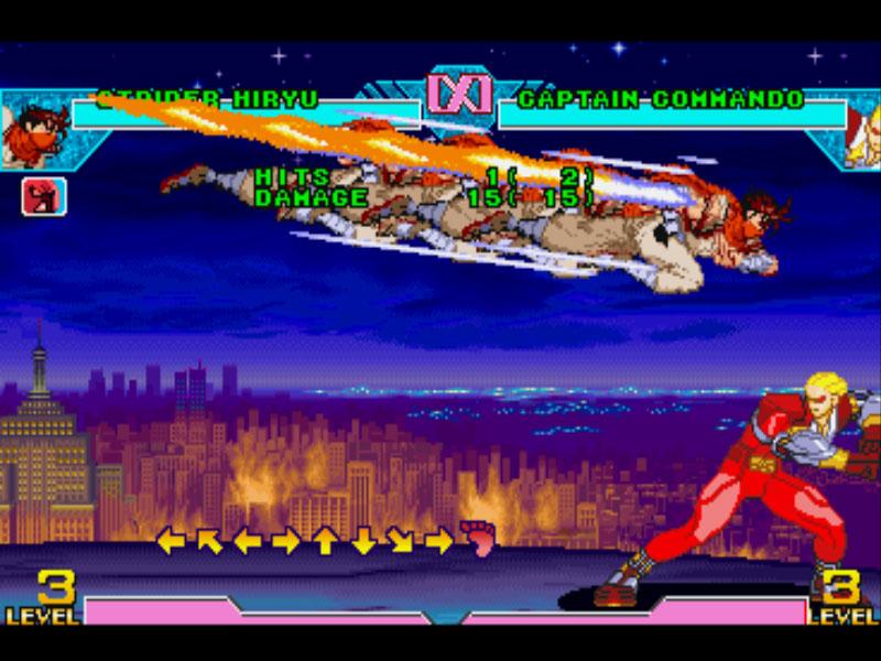 Marvel super heroes arcade online