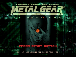 Screenshot Thumbnail / Media File 1 for Metal Gear Solid VR Missions