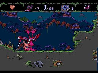 Screenshot Thumbnail / Media File 1 for AAAHH!!! Real Monsters (USA, Europe)
