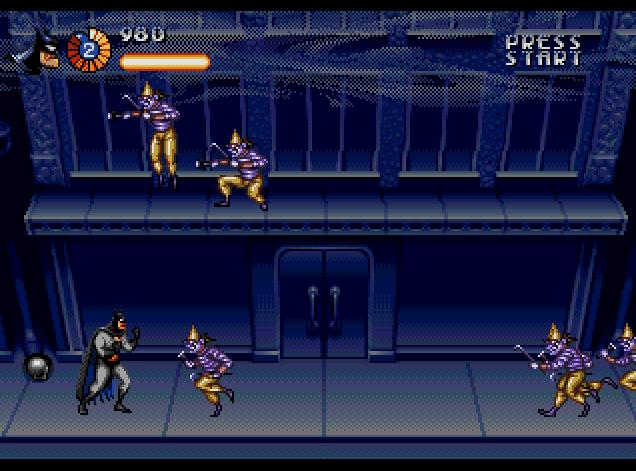 Adventures Of Batman Robin The Usa Rom Genesis Roms Emuparadise