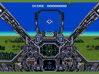 Screenshot Thumbnail / Media File 1 for Air Diver (USA)