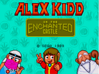 Screenshot Thumbnail / Media File 1 for Alex Kidd in the Enchanted Castle (Europe) (Alt)