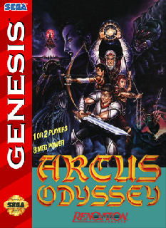 Screenshot Thumbnail / Media File 1 for Arcus Odyssey (USA)