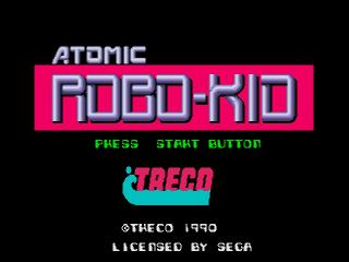 Screenshot Thumbnail / Media File 1 for Atomic Robo-Kid (Japan)