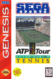 Screenshot Thumbnail / Media File 1 for ATP Tour Championship Tennis (USA)