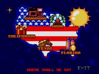 Screenshot Thumbnail / Media File 1 for Barbie Vacation Adventure (USA)