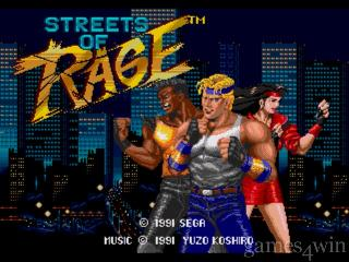 Screenshot Thumbnail / Media File 1 for Bare Knuckle - Ikari no Tetsuken ~ Streets of Rage (World)