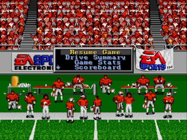 Bill Walsh College Football Usa Europe Rom Genesis Roms