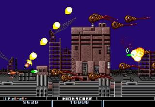 Screenshot Thumbnail / Media File 1 for Bio Hazard Battle (USA) (Beta)