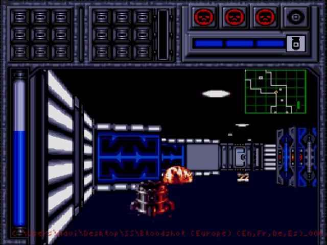 Bloodshot (Europe) (En,Fr,De,Es) ROM < Genesis ROMs