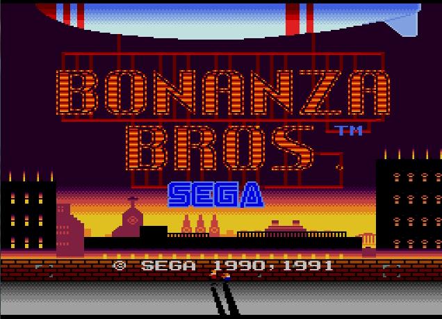 Bonanza Bros Usa Europe Rom