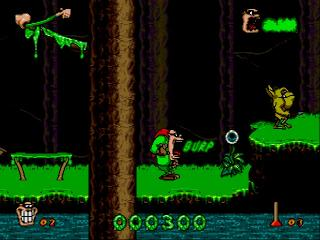Screenshot Thumbnail / Media File 1 for Boogerman - A Pick and Flick Adventure (Europe)