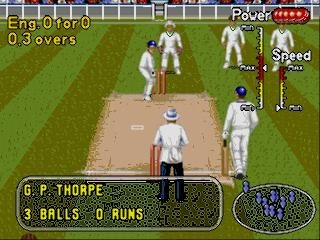 Screenshot Thumbnail / Media File 1 for Brian Lara Cricket 96 (Europe) (March 1996)