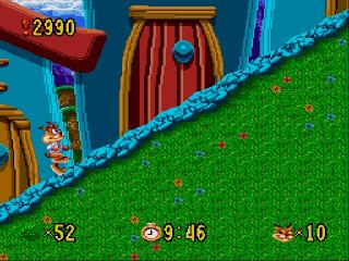 Screenshot Thumbnail / Media File 1 for Bubsy in Claws Encounters of the Furred Kind (USA, Europe)