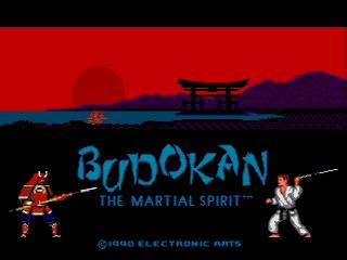 Screenshot Thumbnail / Media File 1 for Budokan - The Martial Spirit (Europe)