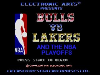 Screenshot Thumbnail / Media File 1 for Bulls Vs Lakers and the NBA Playoffs (USA, Europe)