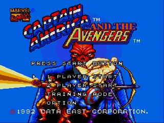 Screenshot Thumbnail / Media File 1 for Captain America and the Avengers (Europe)