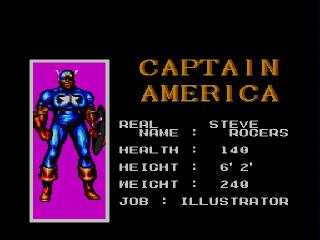 Screenshot Thumbnail / Media File 1 for Captain America and the Avengers (USA)