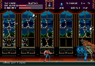 Screenshot Thumbnail / Media File 1 for Castlevania - The New Generation (Europe)