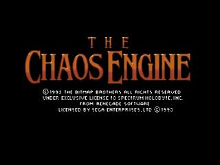 Screenshot Thumbnail / Media File 1 for Chaos Engine, The (Europe)
