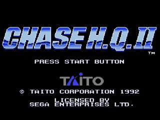 Screenshot Thumbnail / Media File 1 for Chase H.Q. II (USA)