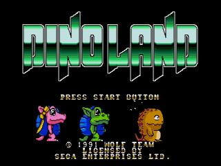 Screenshot Thumbnail / Media File 1 for Chou Touryuu Retsuden Dino Land (Japan)