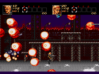 Screenshot Thumbnail / Media File 1 for Contra - The Hard Corps (Japan)