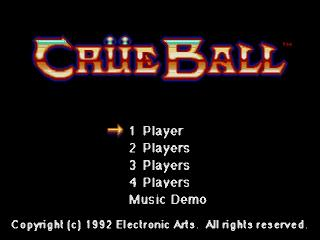 Screenshot Thumbnail / Media File 1 for Crue Ball (Japan)