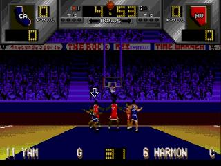 Screenshot Thumbnail / Media File 1 for Dick Vitale's 'Awesome, Baby!' College Hoops (USA)