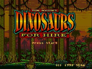 Screenshot Thumbnail / Media File 1 for Dinosaurs for Hire (USA)