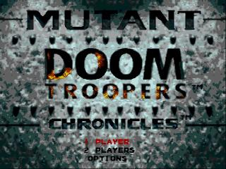 Screenshot Thumbnail / Media File 1 for Doom Troopers - The Mutant Chronicles (USA)
