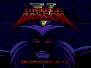 Screenshot Thumbnail / Media File 1 for Double Dragon V - The Shadow Falls (USA)