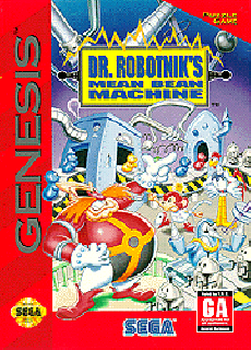 Screenshot Thumbnail / Media File 1 for Dr. Robotnik's Mean Bean Machine (USA) (Beta)