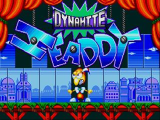 Screenshot Thumbnail / Media File 1 for Dynamite Headdy (Japan) (Beta)