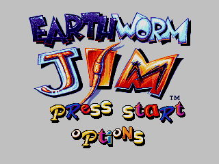 Screenshot Thumbnail / Media File 1 for Earthworm Jim (USA)