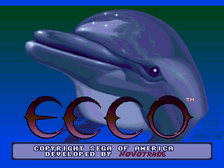 Screenshot Thumbnail / Media File 1 for Ecco the Dolphin (Japan)