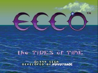 Screenshot Thumbnail / Media File 1 for Ecco - The Tides of Time (USA) (Beta)