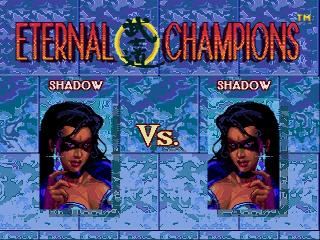 Screenshot Thumbnail / Media File 1 for Eternal Champions (Europe) (Beta)